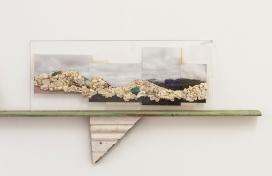 gum mountain on shelf